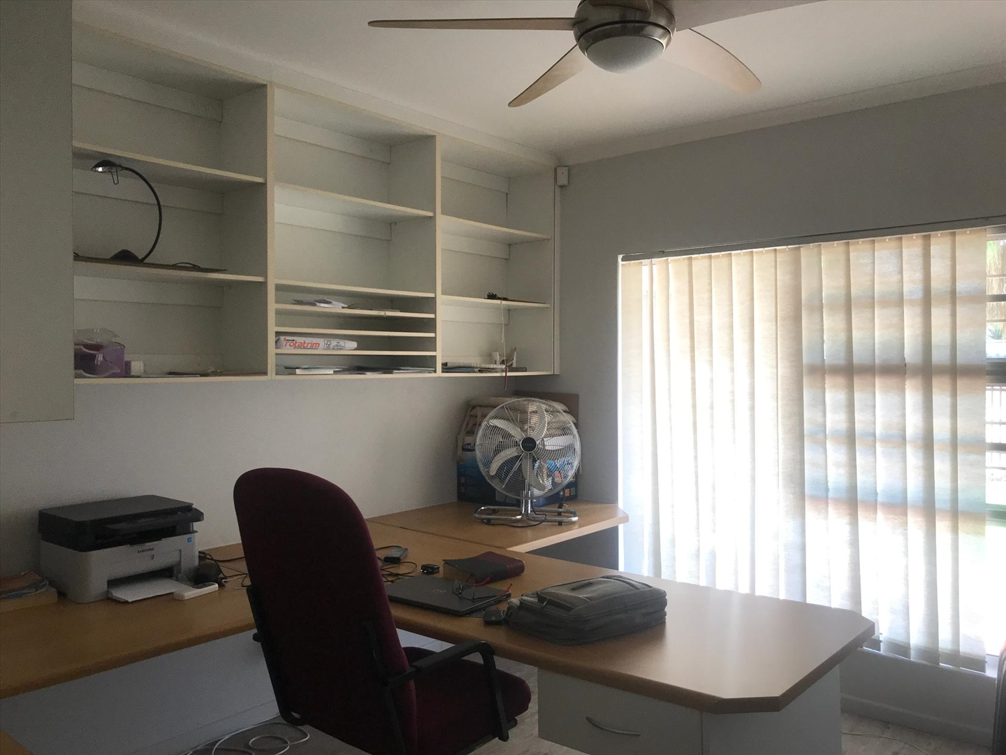 3rd bedroom used as study
