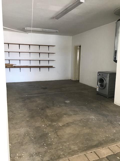Triple garage with storage
