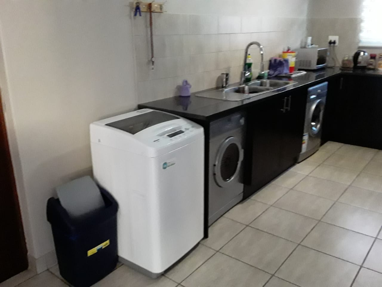 Space for undercounter appliances