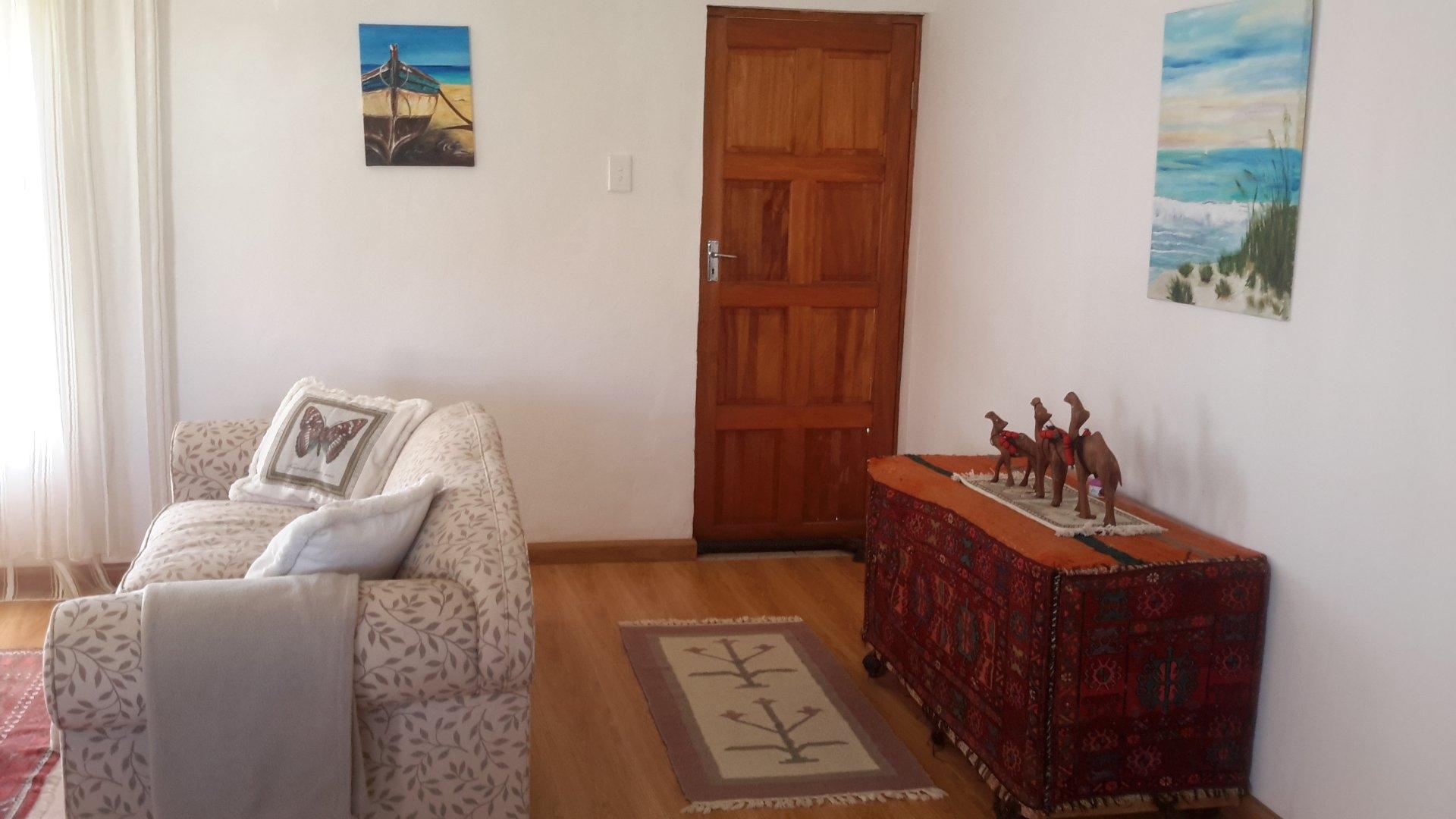 Flatlet entrance and living area