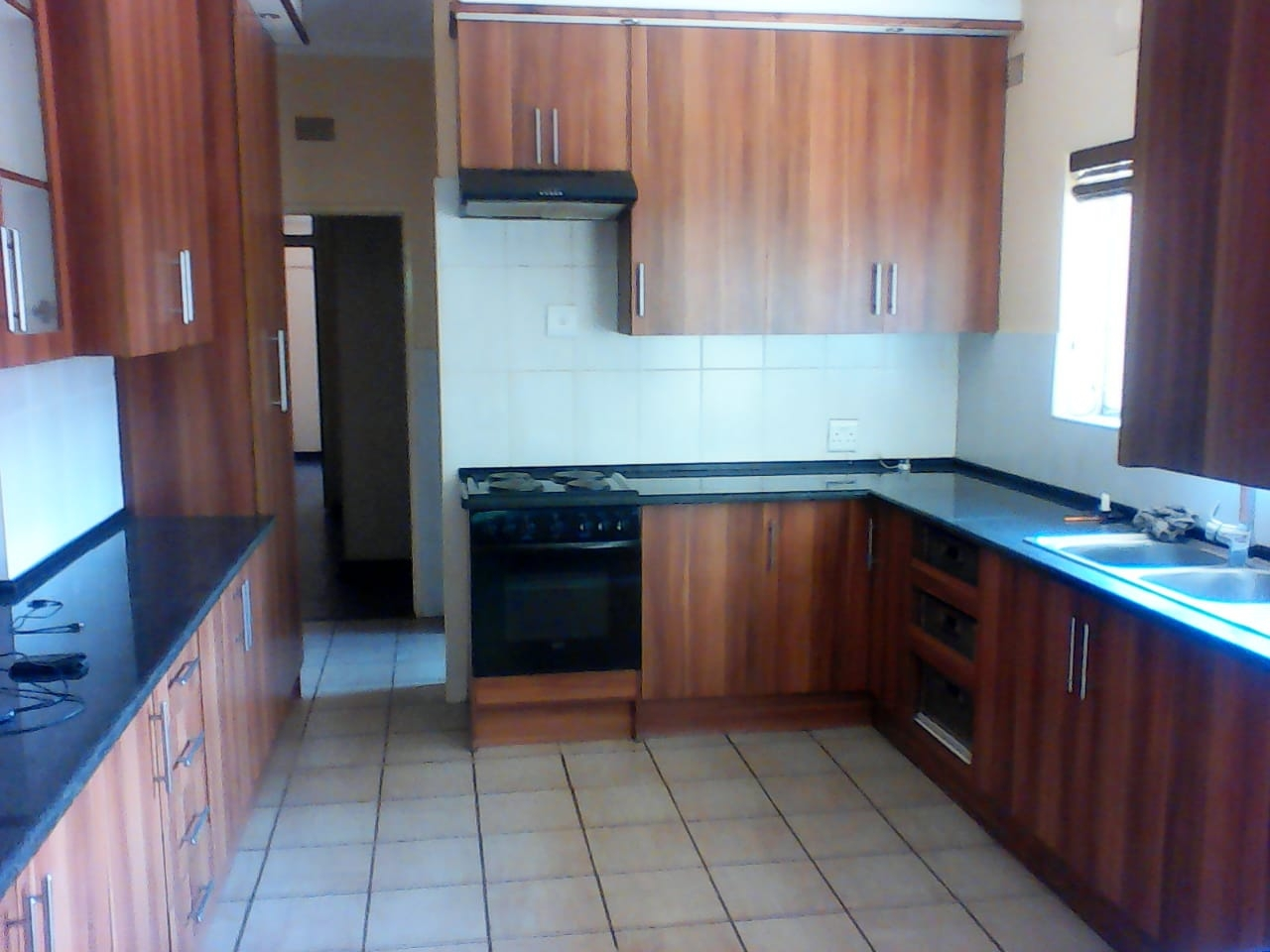 Ample modern built-in cupboards fitted