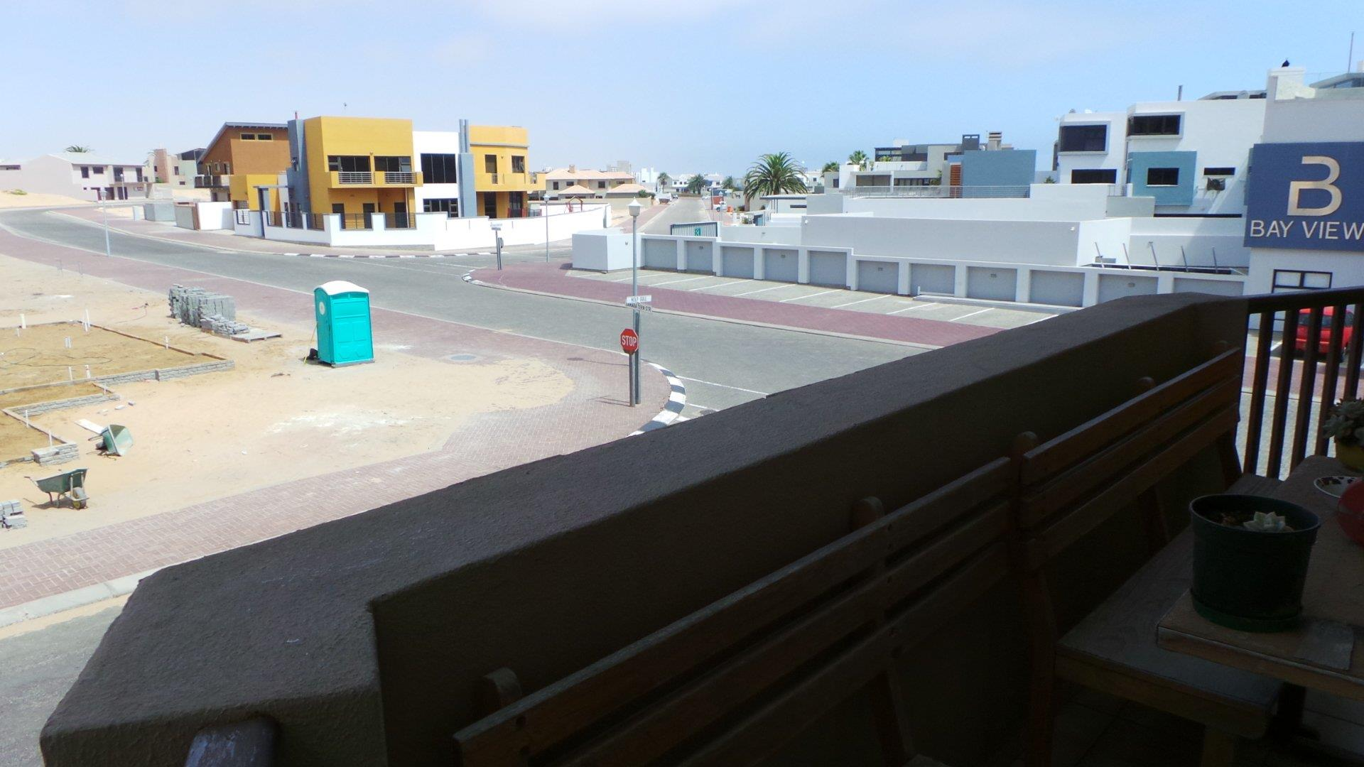 Balcony dune view