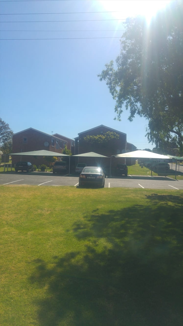 View of carports from picnic area