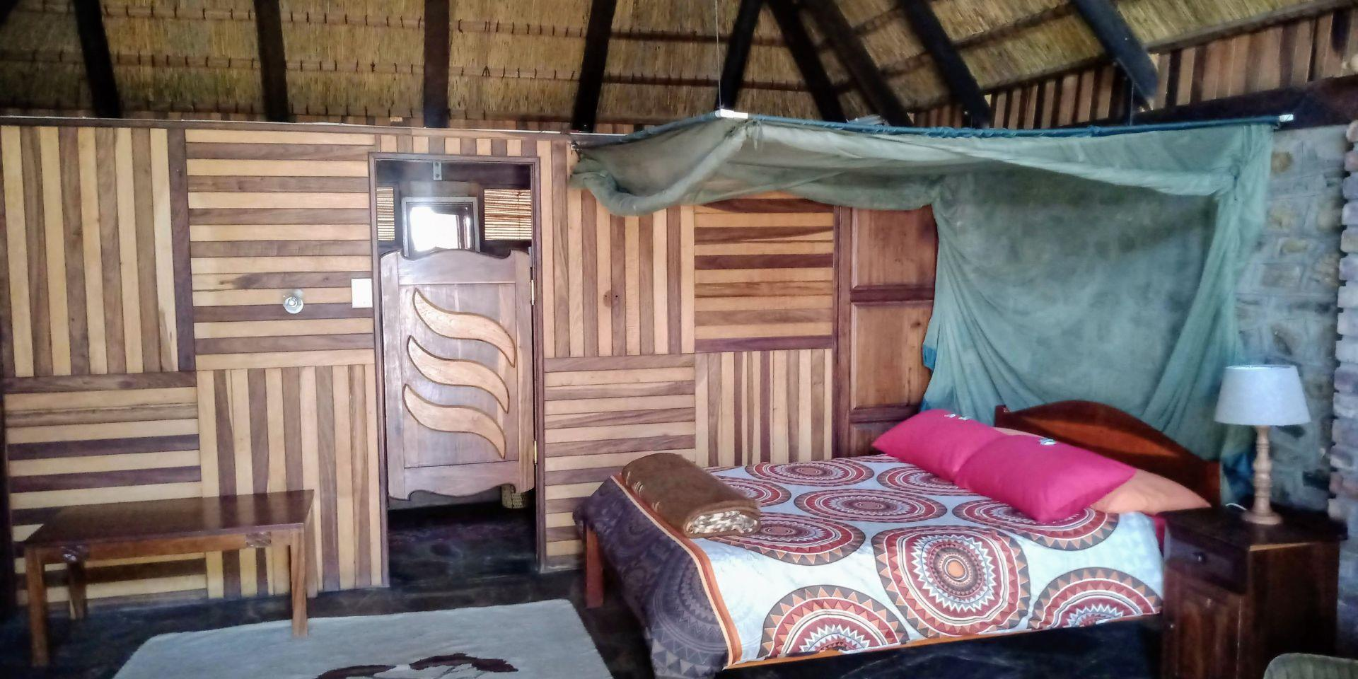 Bedrooms with the real African Rosewood.
