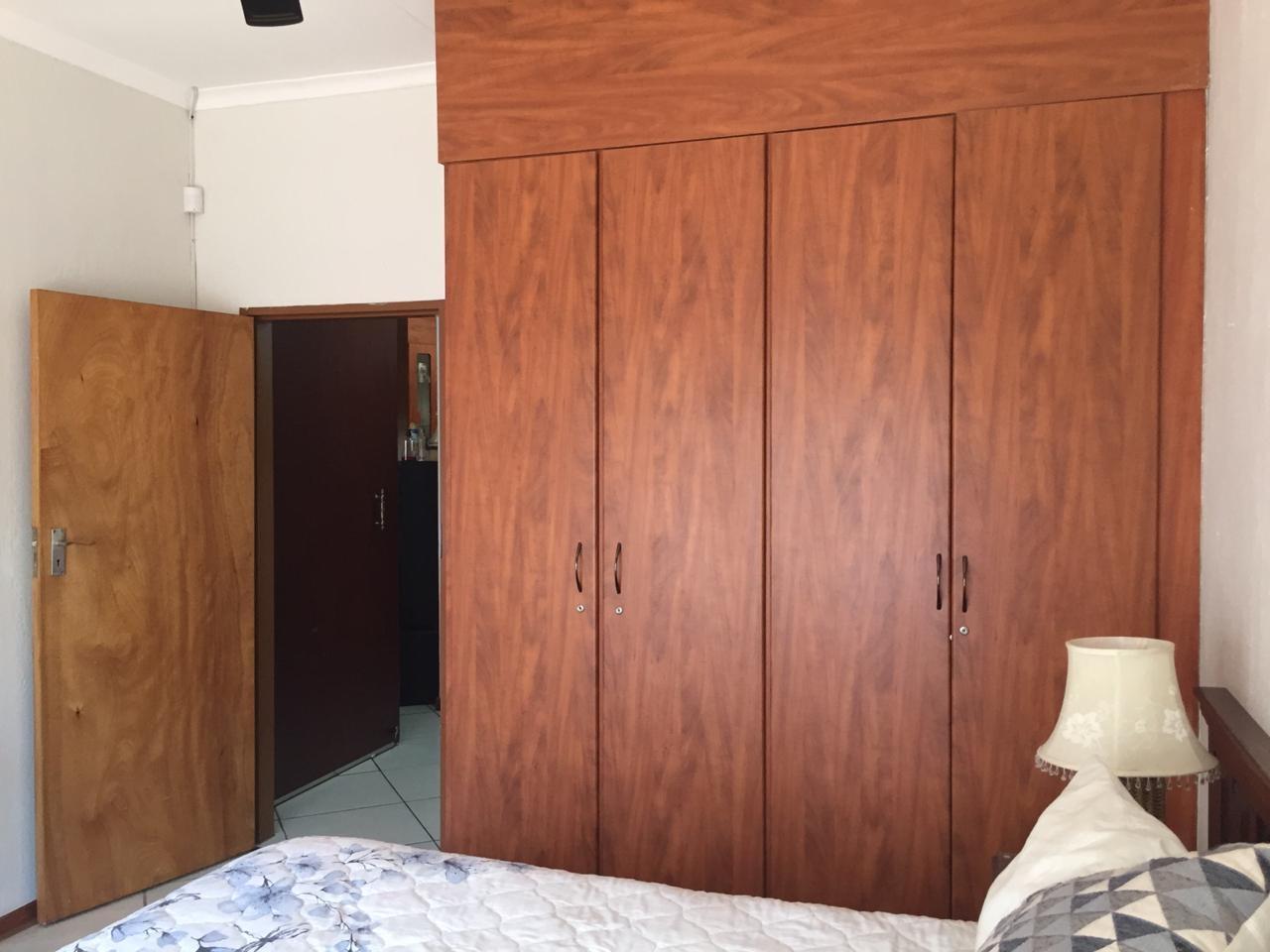 Built-in cupboards in bedroom 2