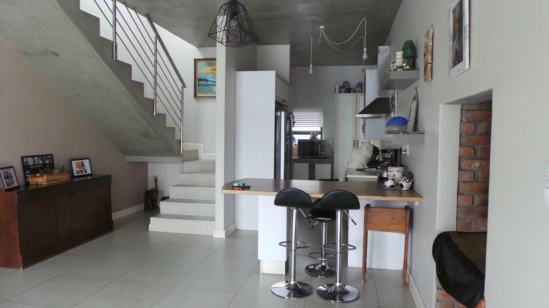 Open Kitchen staircase