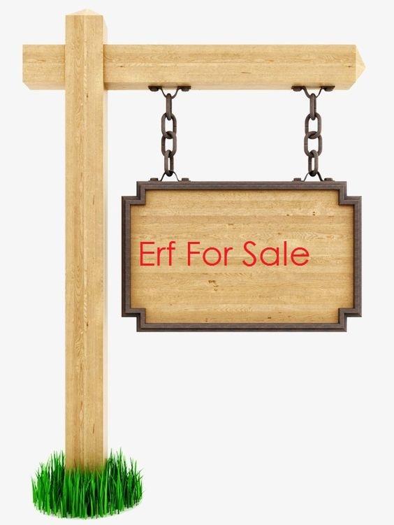 Residential plot for sale.