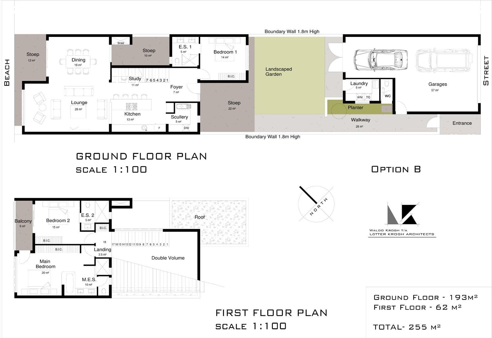 Option B floor plan