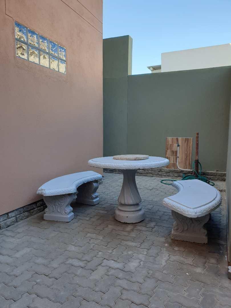 Court yard for bachelor flat