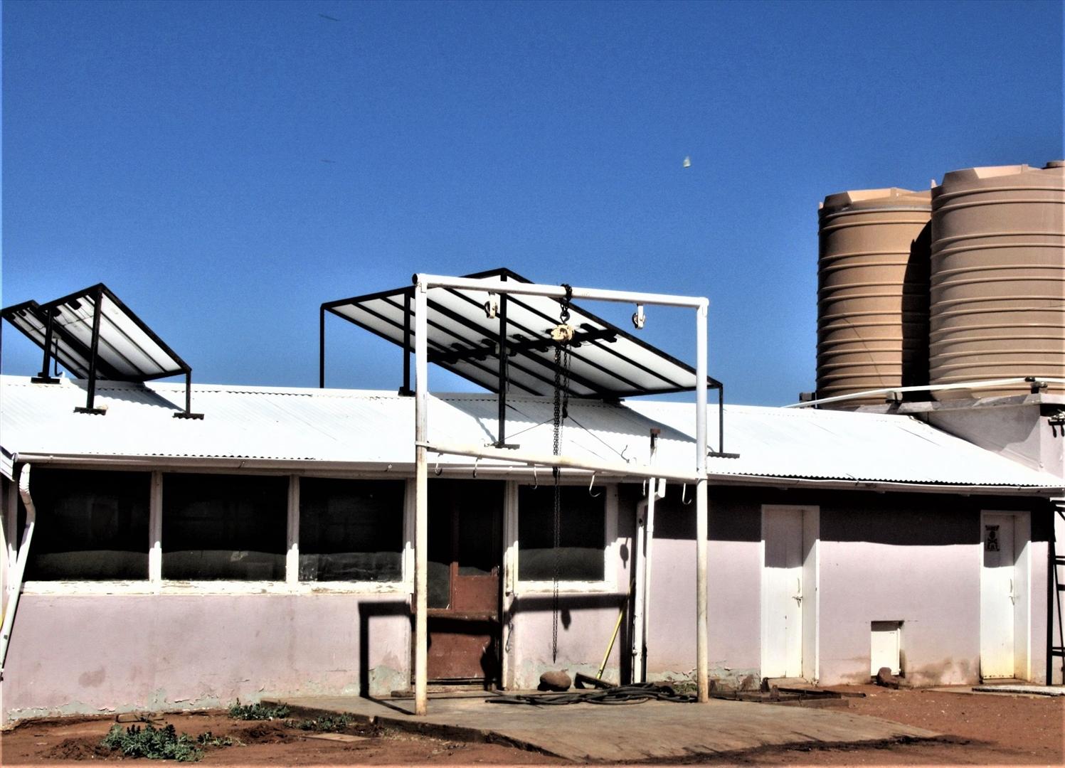 Meat processing unit