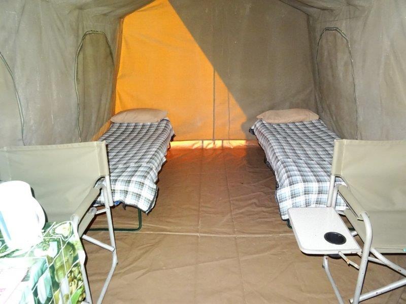 Tent at camp site