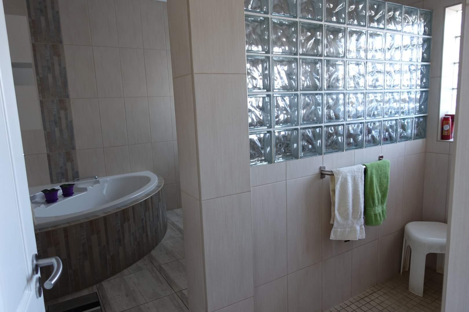 Main full bathroom downstairs