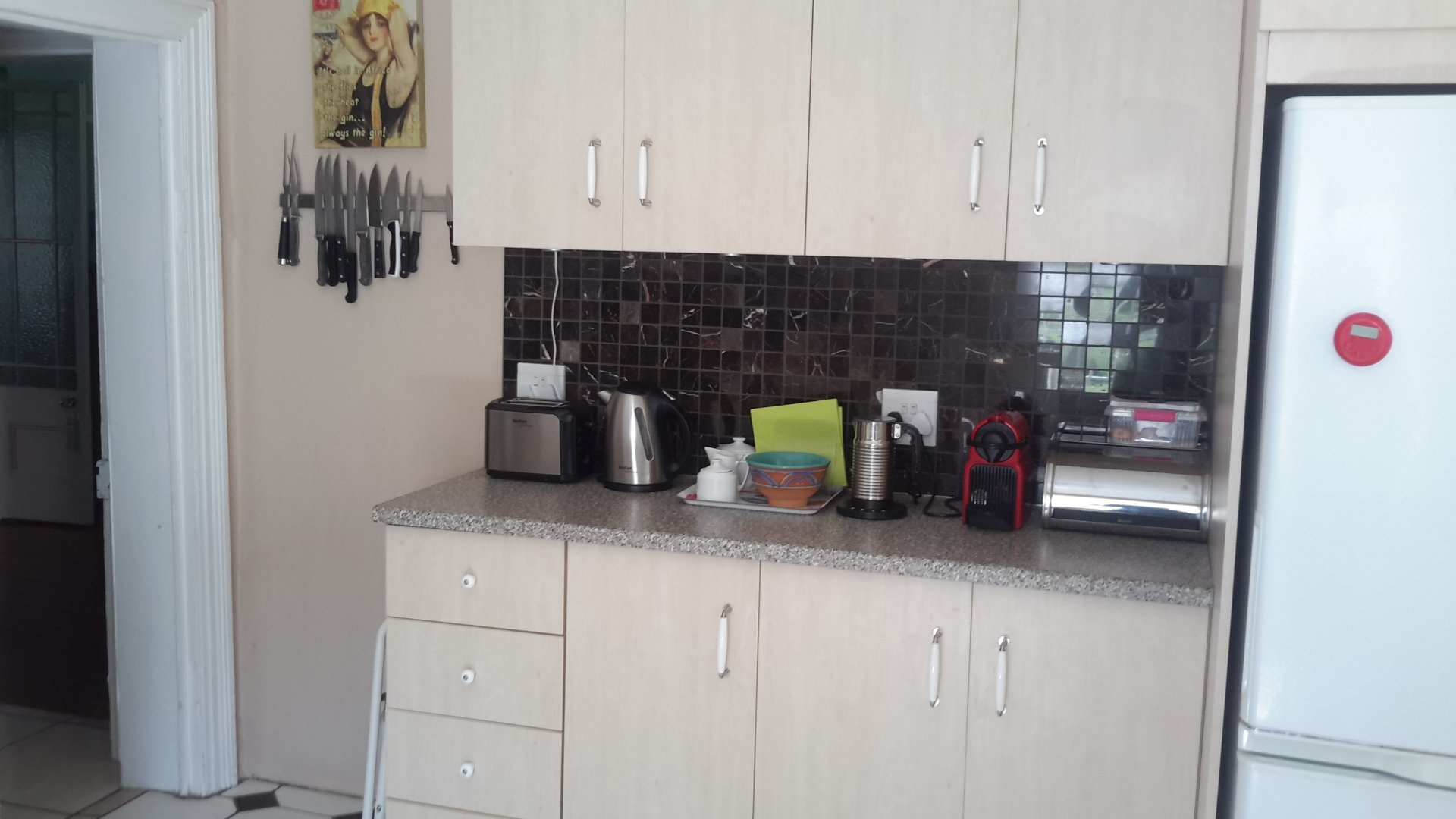Kitchen of house