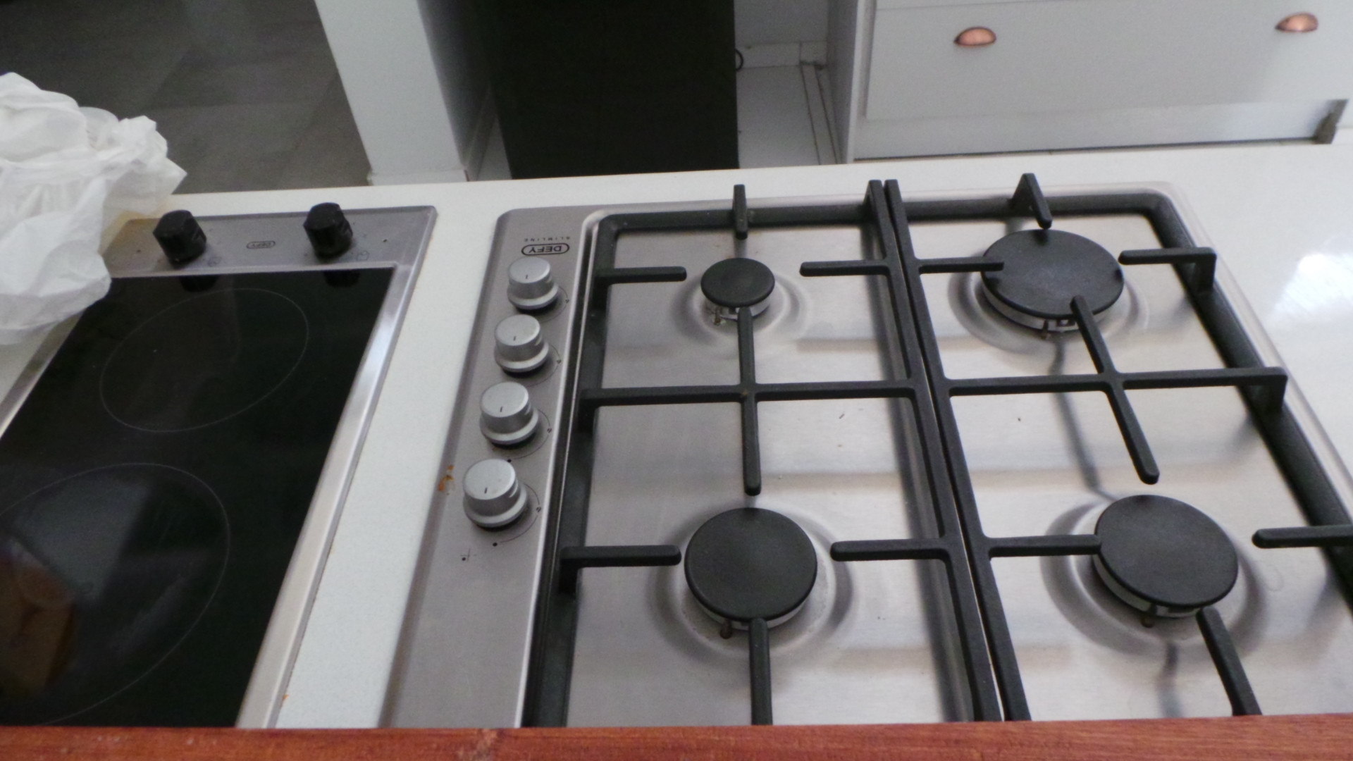 Gas and electric stove plates