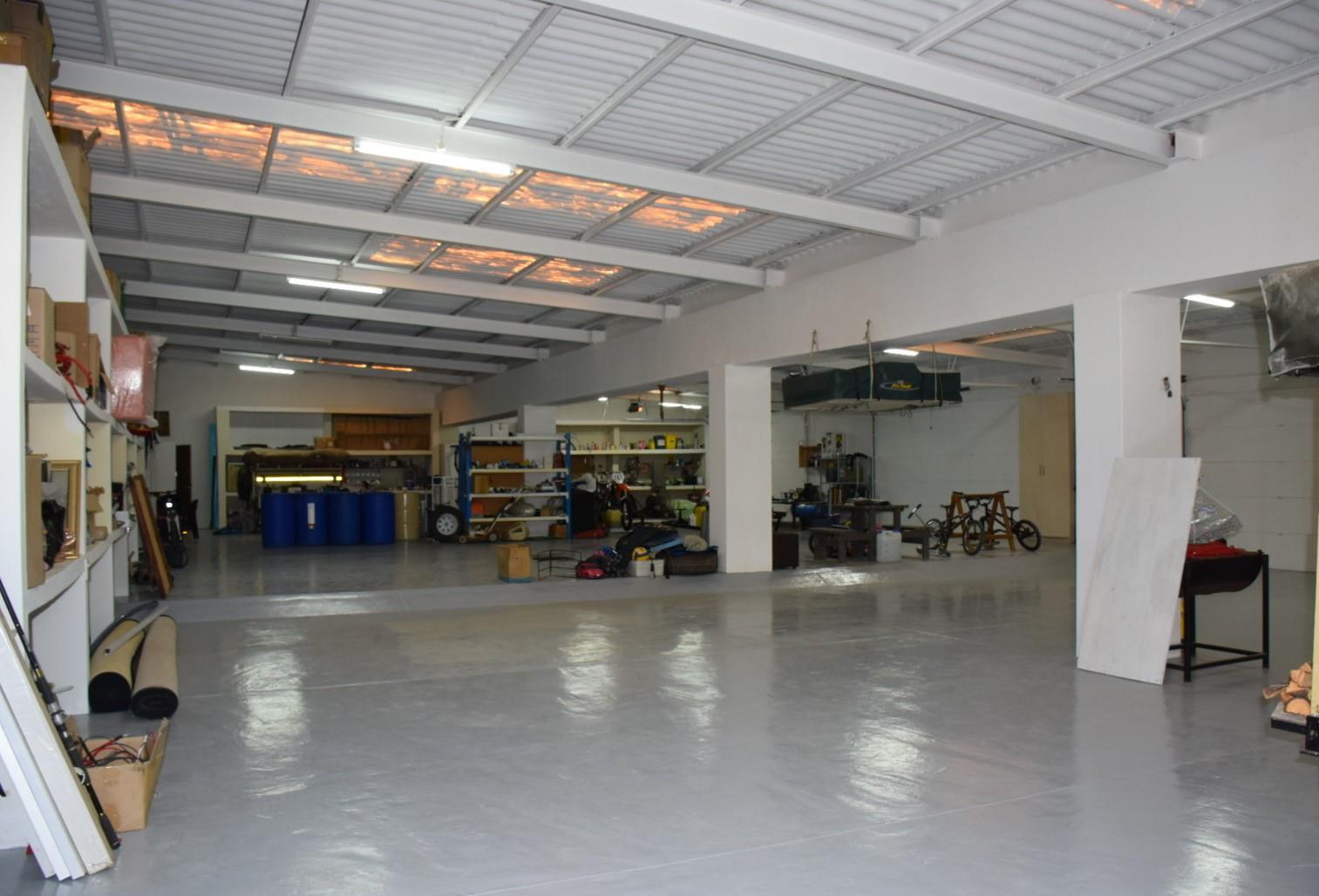 Huge garage space