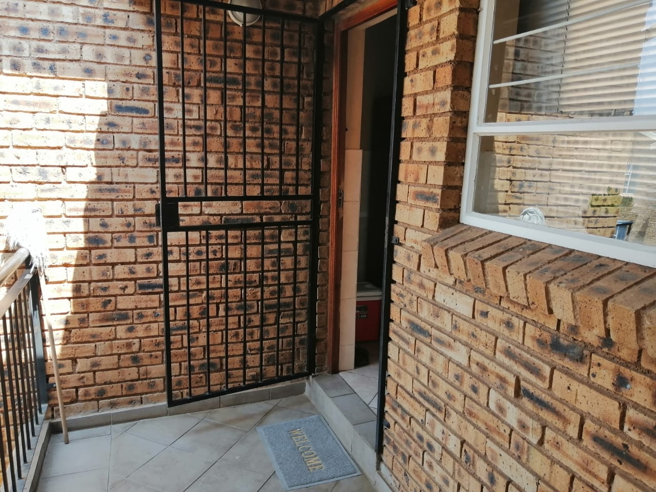 Front door of unit