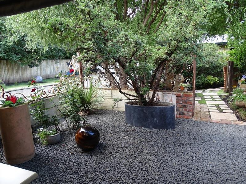 Suite 3 - outside small private garden area