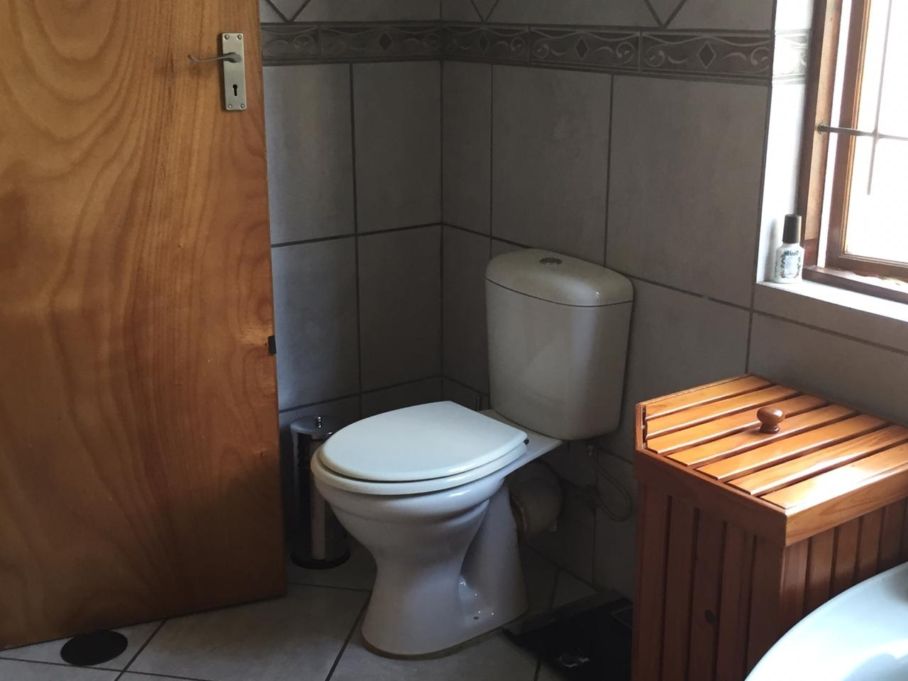 Toilet in en-suite bathroom