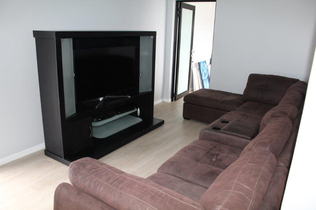 Private tv area for main bedroom suite