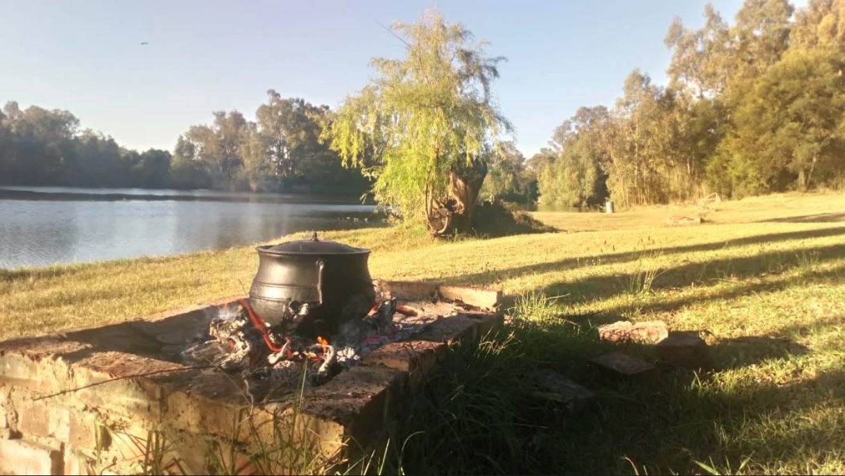 Potjie on the Vaal!