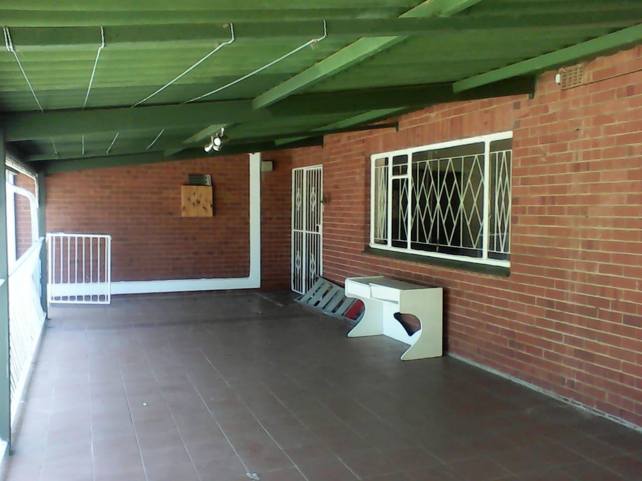 Large veranda for entertainment