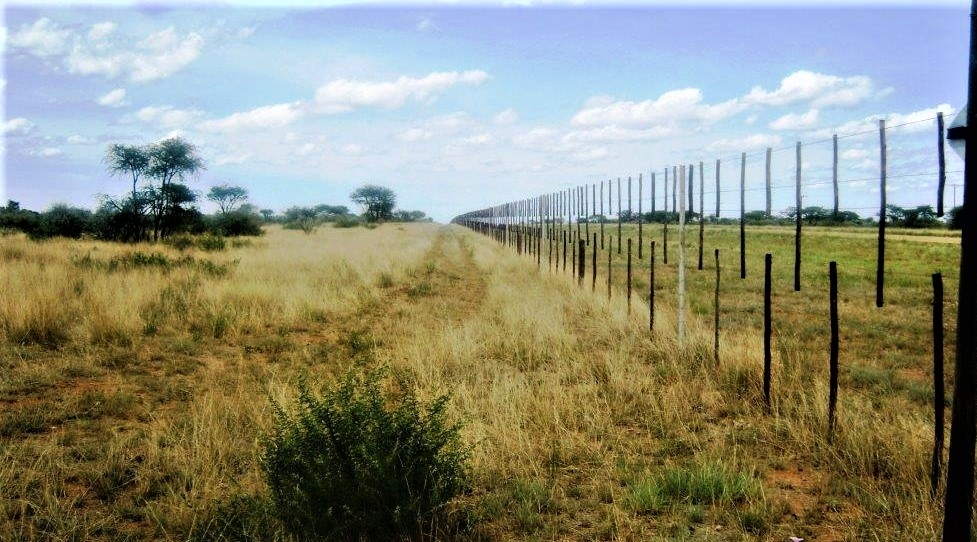 Game fence on borders