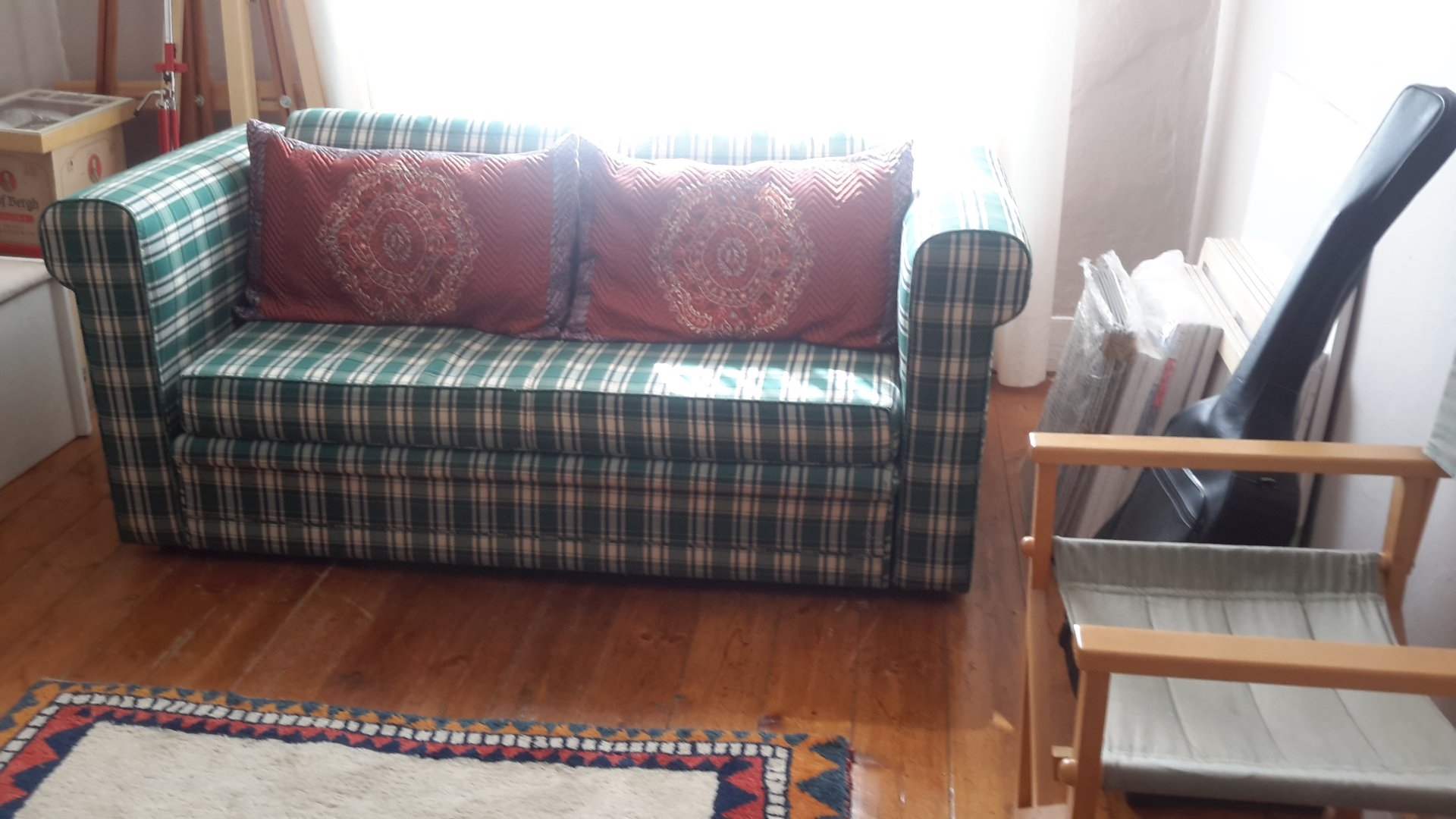 Couch in bedroom 3