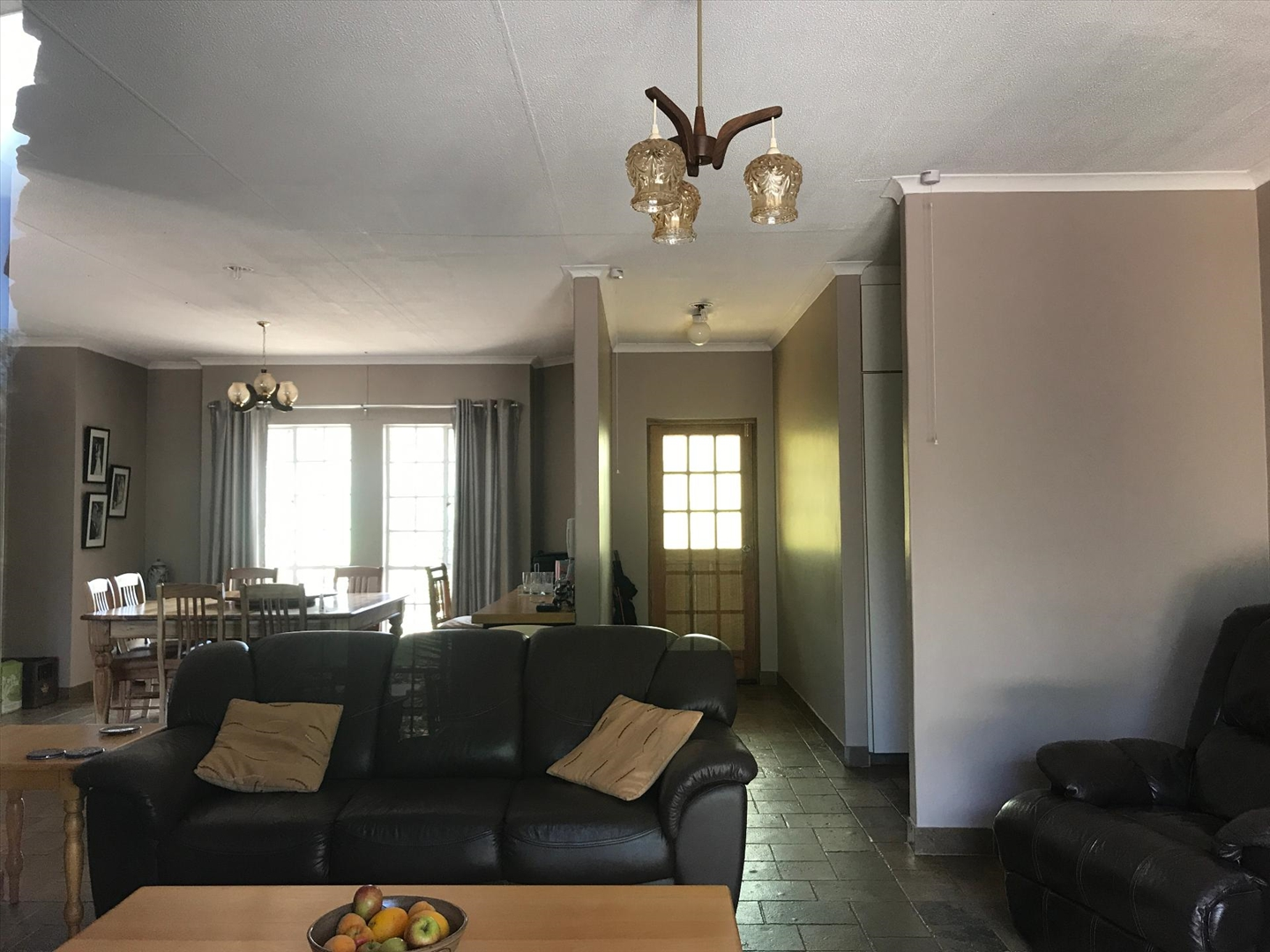 Two bedroom flat - living areas