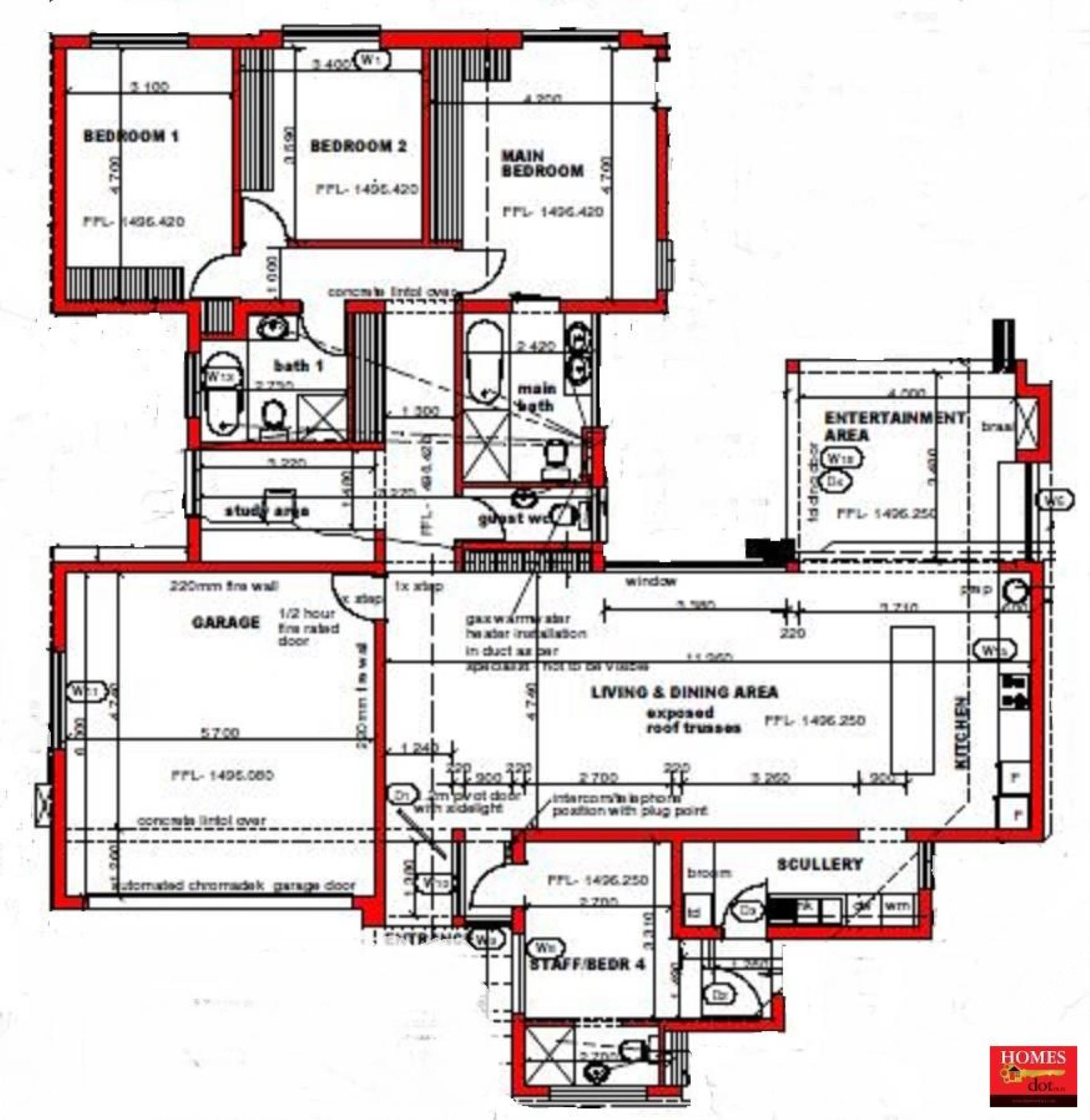 House for sale in midstream meadows centurion for r 3 200 for 4 bedroom house plans under 200 000