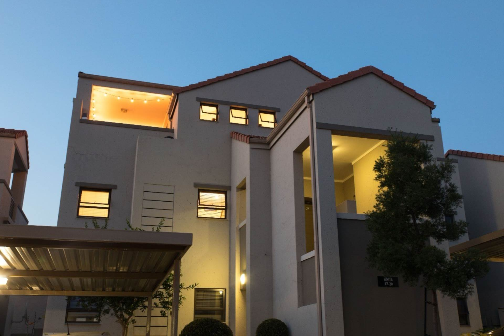 Outside view unit