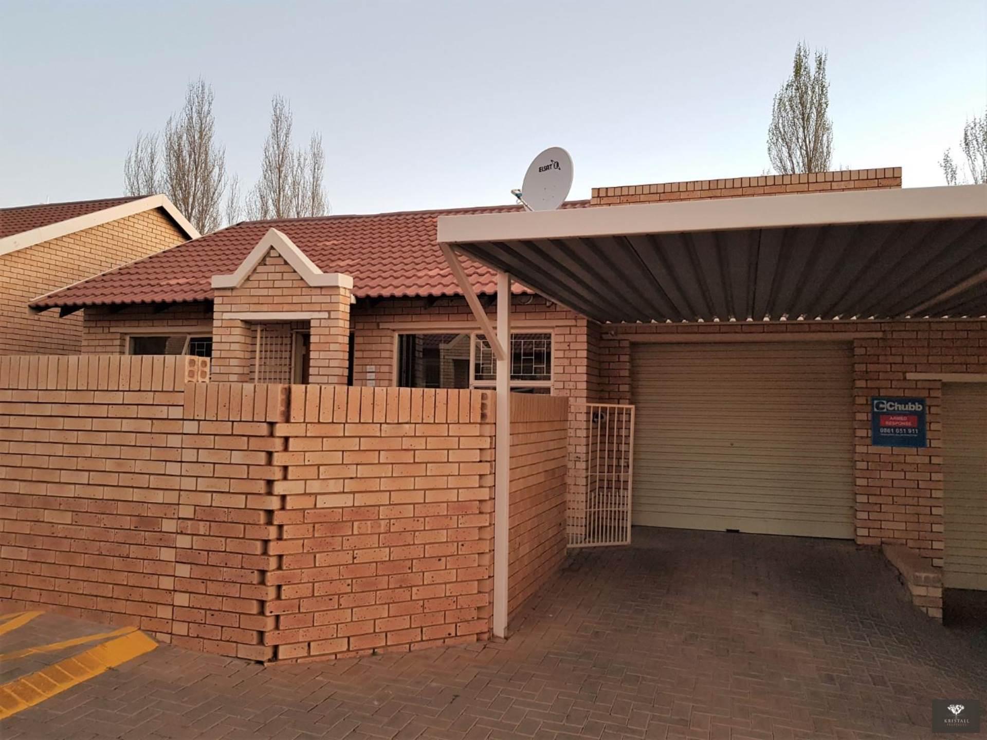 Single automated garage and single carport