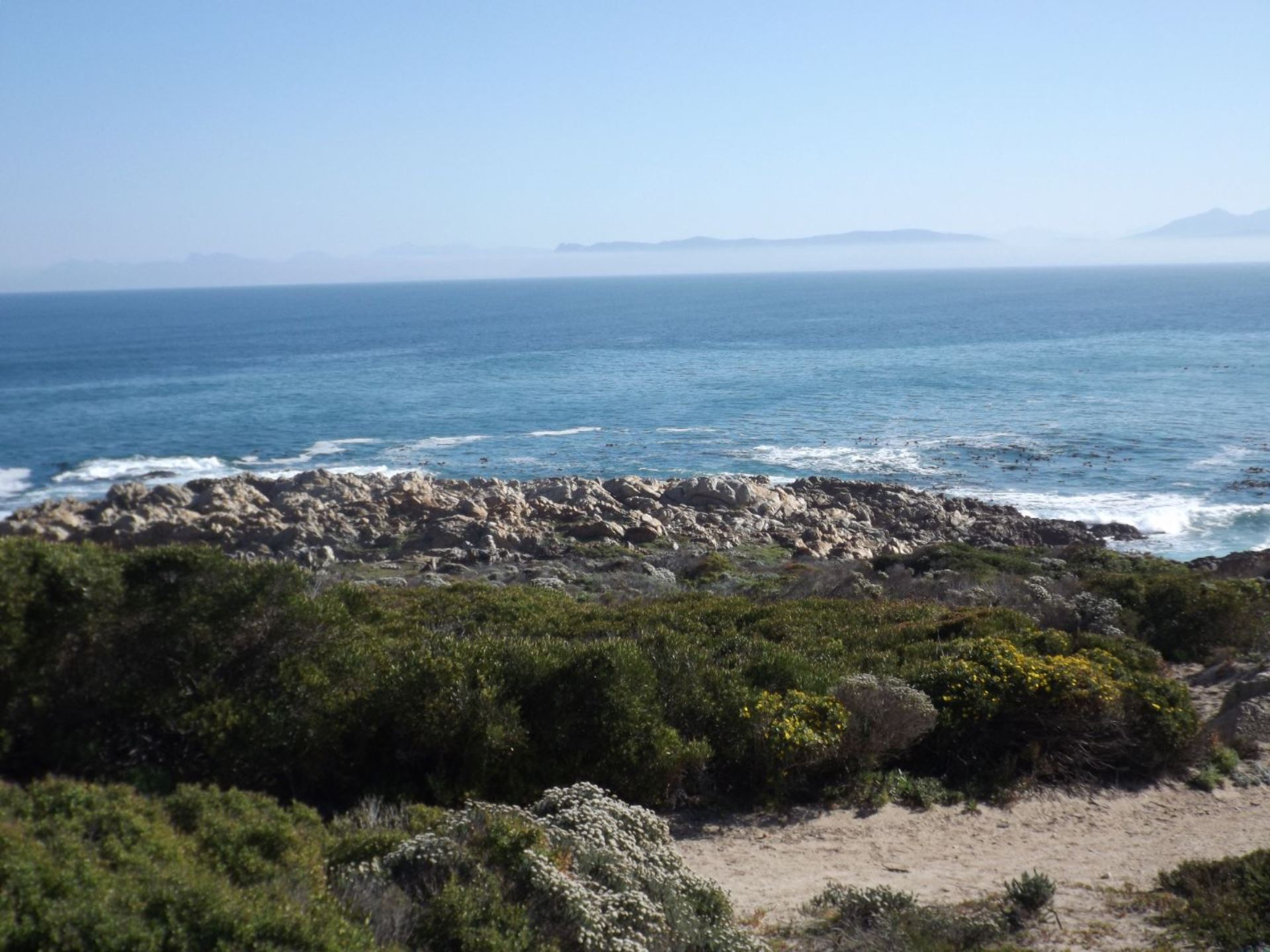 Sea View to the front; Hermanus, Hangklip & Bettys Bay at back.
