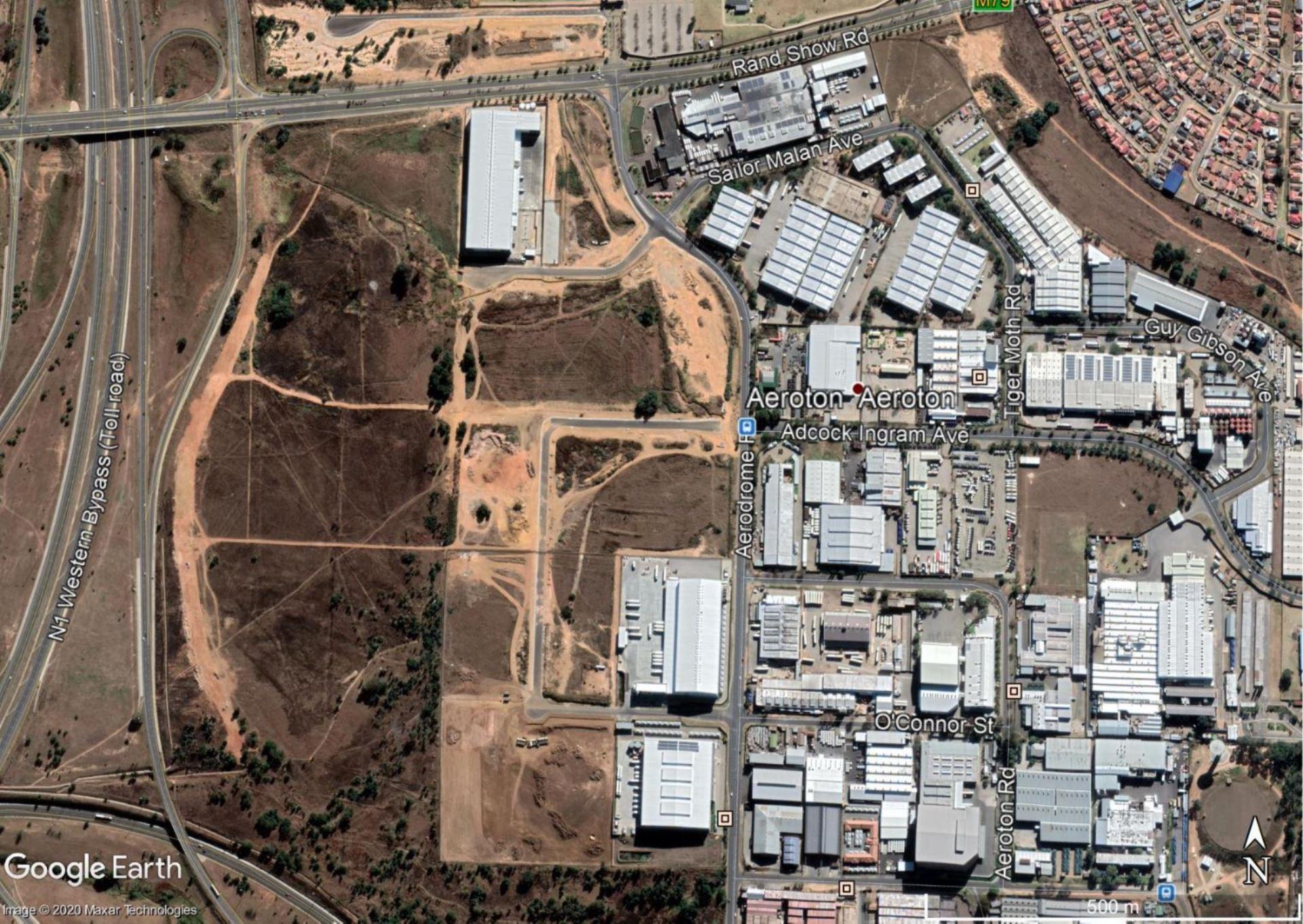 Development Land Aeroton Industria