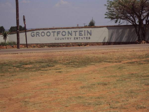 Property and Houses for sale in Grootfontein Country Estate, Vacant Land - ZAR 1,290,000