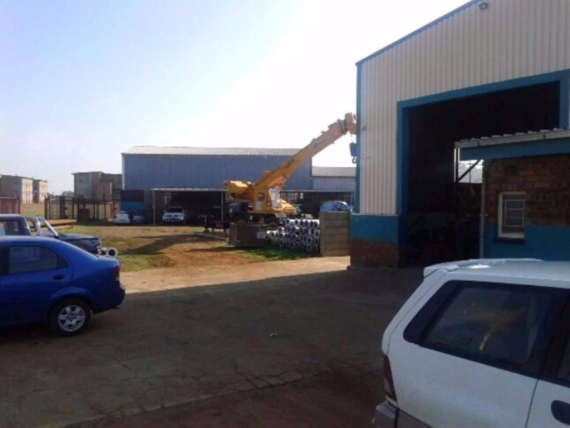 Industrial To Rent In Daggafontein