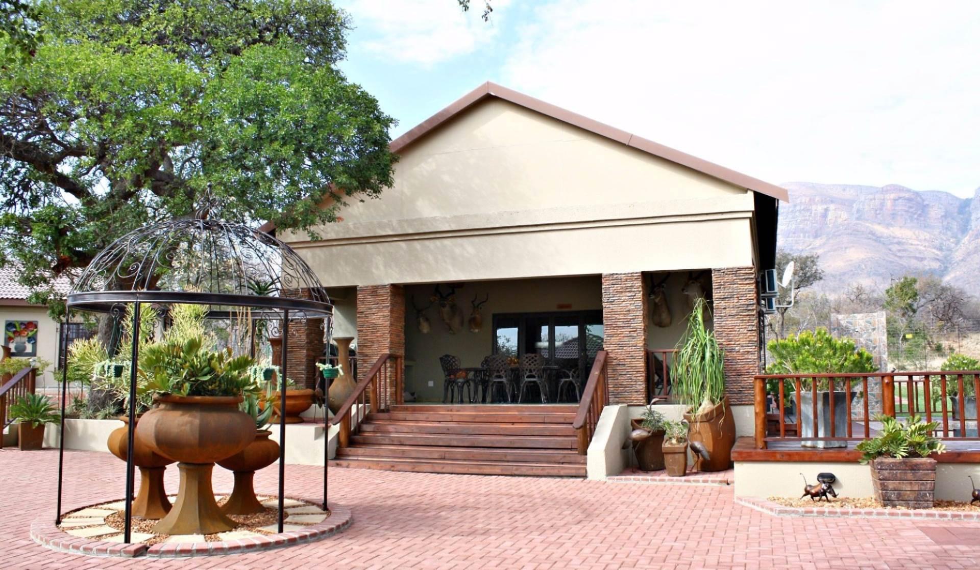 Game Farm Lodge For Sale In Hoedspruit