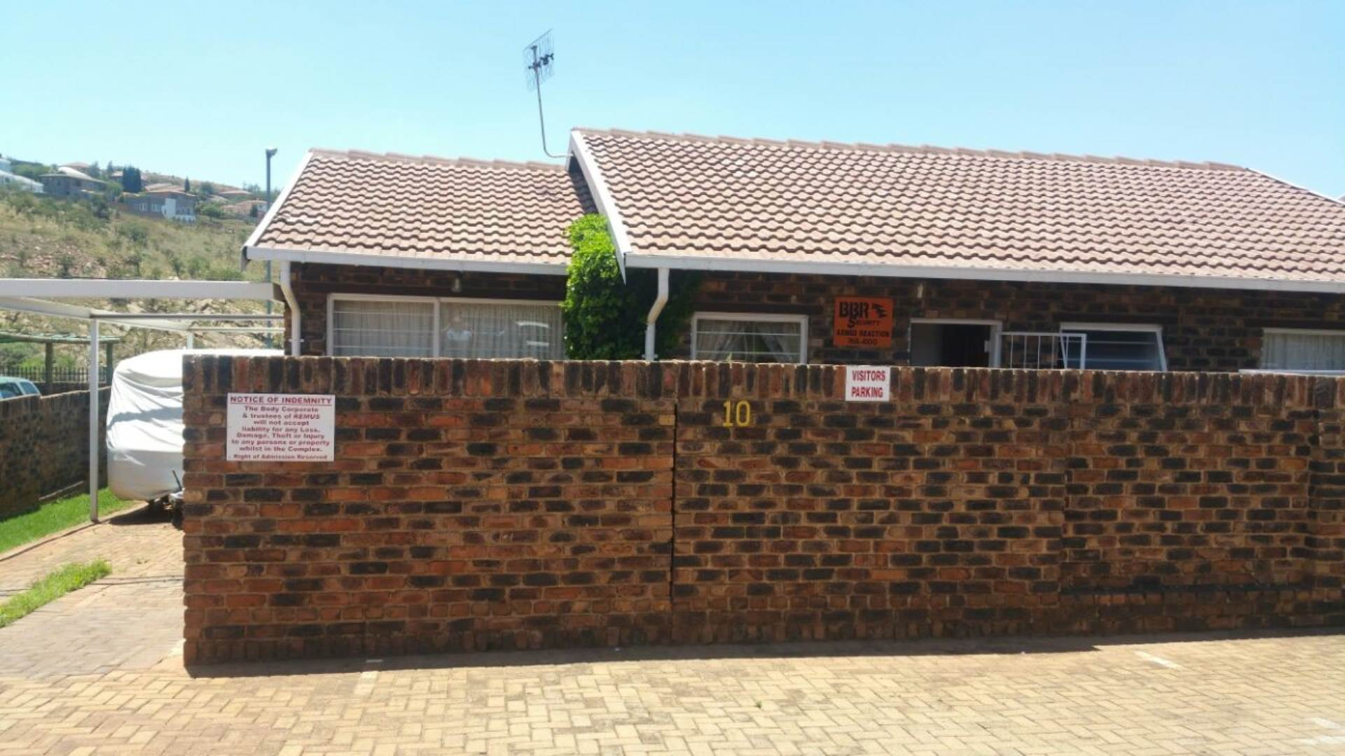 2 BedroomTownhouse For Sale In Rangeview Ext 4