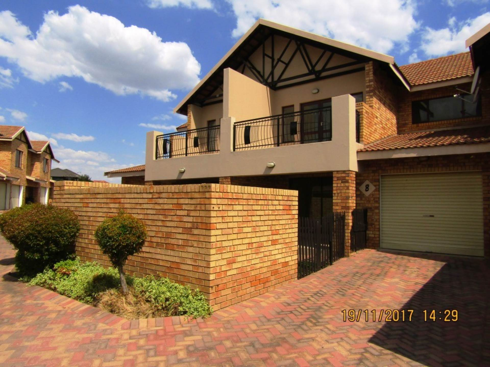 3 BedroomTownhouse For Sale In Sonneveld