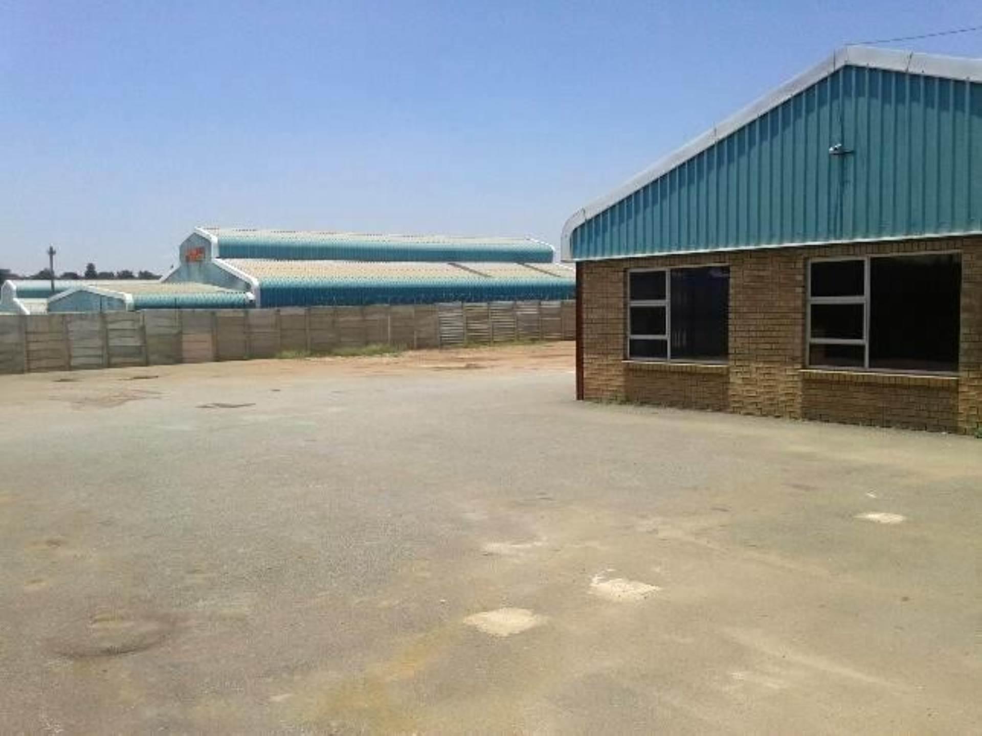 Industrial To Rent In Vlakfontein