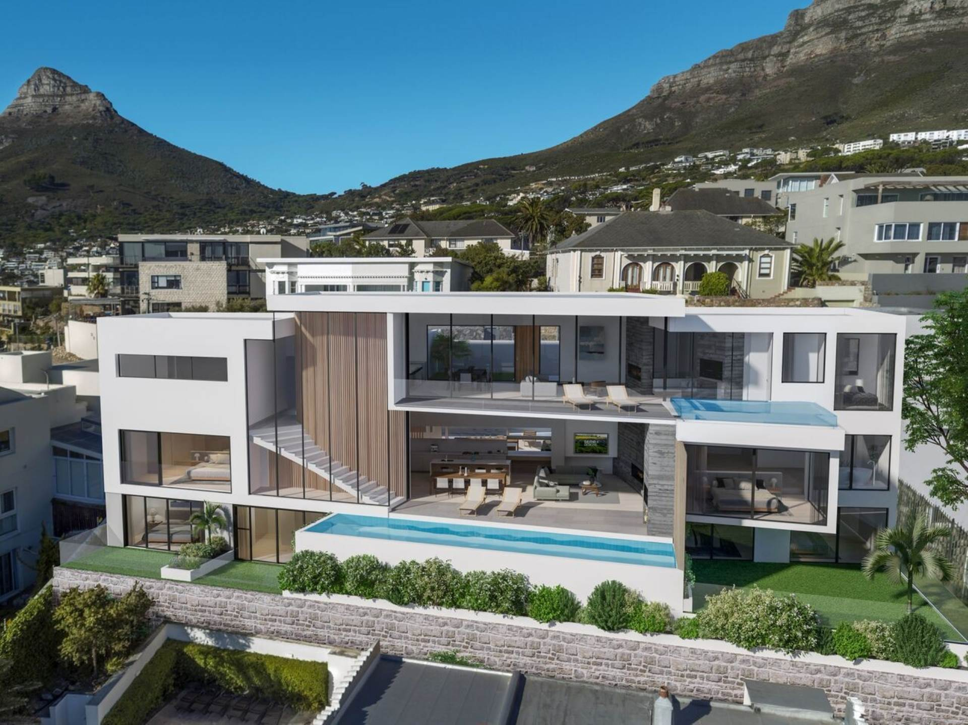 House for sale in camps bay bedroom