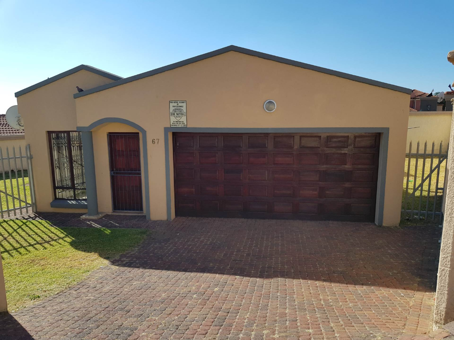 3 BedroomTownhouse To Rent In Hoeveld Park