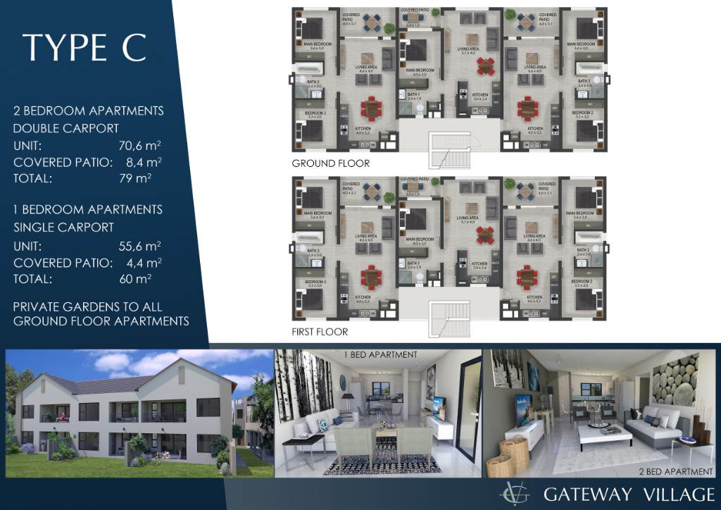 2 BedroomApartment For Sale In Melodie