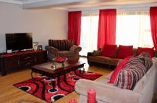 Informal open-plan lounge