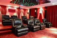 Fitted theater room