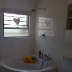 Neat White Bathroom