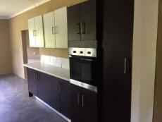 Fitted oven and more cupboards