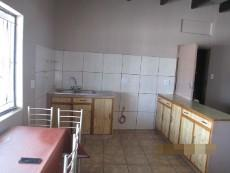 Kitchen in one of the units