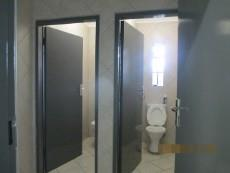 Toilets in office area