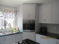 Kitchen with lots of fitted cupboards