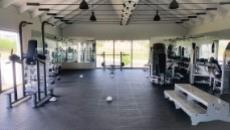 Gymnasium in Estate